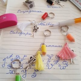 ensemble des porte-clefs
