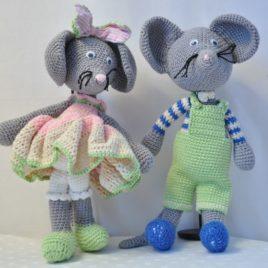 Crochet-amigurumi souris