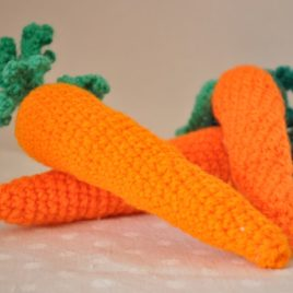 Carotte crochet amigurumi