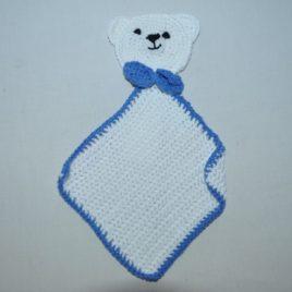 Doudou crochet en coton