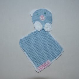 Doudou plat en crochet