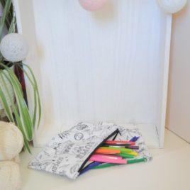 Trousse à colorier aux feutres lavables