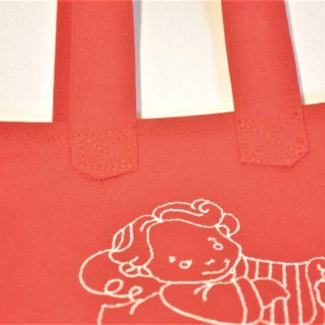 Tissu et fils eoko-tex. Création artisanale