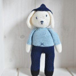 Doudou en crochet artisanal- Bébé-Boutchou