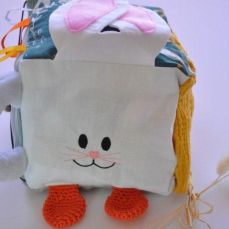 Cube-eveil-lapin-visage (Personnalisé)