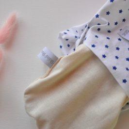 Bouillotte sèche pour bébé - Création artisanale