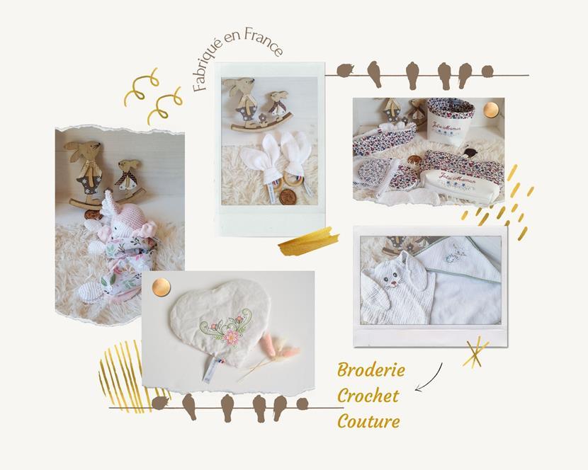 Photo montage boutique bébé Boutchou