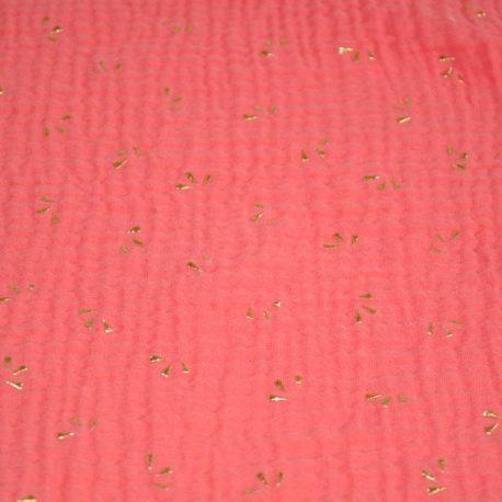 Corail éventails dorés