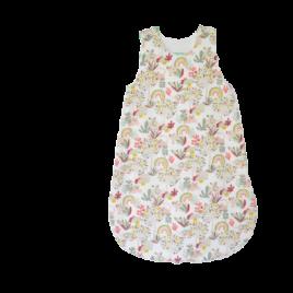 Gigoteuse thème arc en ciel pour bébé 0-6 mois création Bébé Boutchou